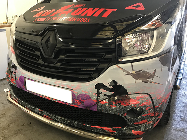 Vehicle Wrapping call 01233 220317